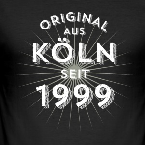 Original fra Köln siden 1999 - Herre Slim Fit T-Shirt