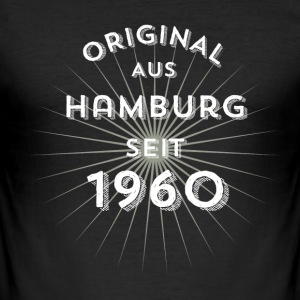 Original from Hamburg since 1960 - Men's Slim Fit T-Shirt