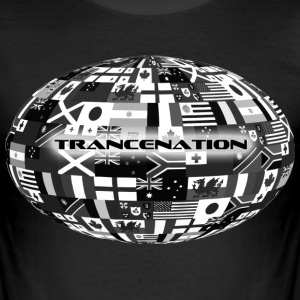 Trance Nation - Männer Slim Fit T-Shirt