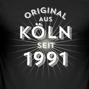 Original fra Köln siden 1991 - Herre Slim Fit T-Shirt