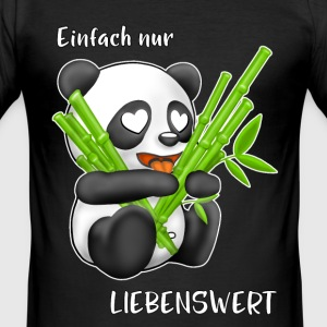 lieve Panda - slim fit T-shirt