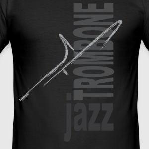 Jazz trombone - slim fit T-shirt
