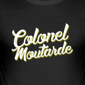 Colonel Mustard - Männer Slim Fit T-Shirt