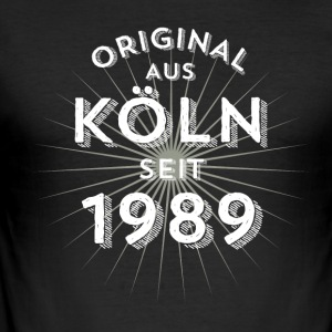 Original fra Köln siden 1989 - Herre Slim Fit T-Shirt