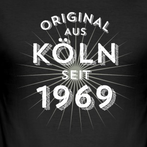 Original fra Köln siden 1969 - Herre Slim Fit T-Shirt