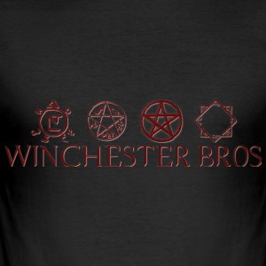 Winchester_Bros - Slim Fit T-shirt herr