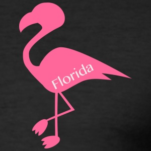 Flamingo Florida - Slim Fit T-skjorte for menn