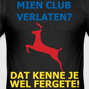 Dit is mien club! - slim fit T-shirt