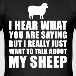 Grappig Schapen Cadeau Idee - slim fit T-shirt