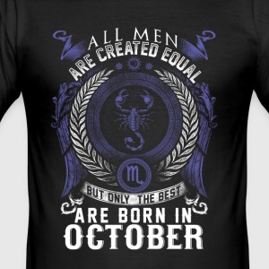 Scorpio October birthday - Men's Slim Fit T-Shirt