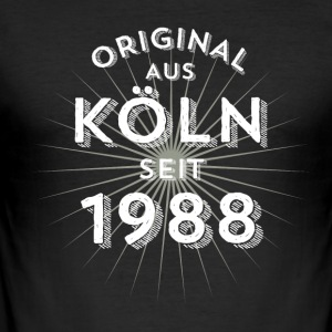 Original fra Köln siden 1988 - Herre Slim Fit T-Shirt