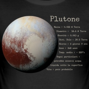 Pluto - Slim Fit T-shirt herr