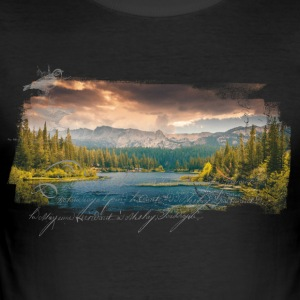 Nature Groove - Slim Fit T-shirt herr