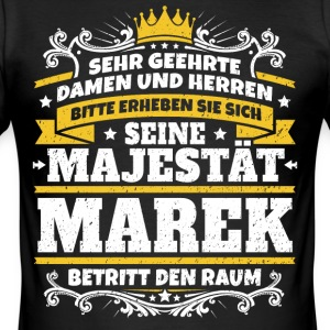 His Majesty Marek - Men's Slim Fit T-Shirt