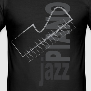 Jazz Piano - slim fit T-shirt