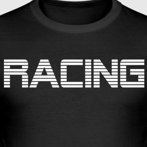 RACING - RACE KØRSEL - Herre Slim Fit T-Shirt