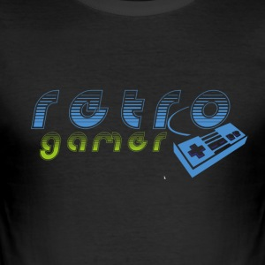 retrogamer - slim fit T-shirt