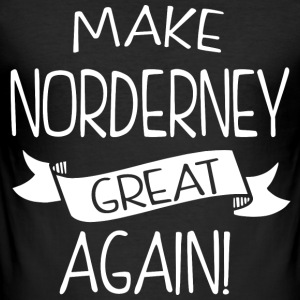 Make Norderney great again - Männer Slim Fit T-Shirt