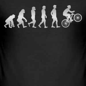 It's just Evolution - MOUNTAINBIKE - Männer Slim Fit T-Shirt