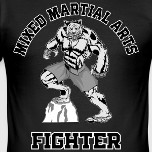 MMA Fighter - Tee shirt près du corps Homme