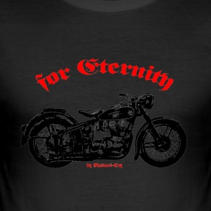 Old Bike - Men's Slim Fit T-Shirt