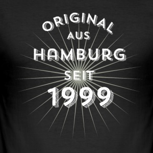 Original from Hamburg since 1999 - Men's Slim Fit T-Shirt