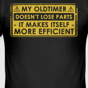 Funny Oldtimer Car Gift Idea - Men's Slim Fit T-Shirt