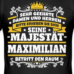 Zijne Majesteit Maximilian - slim fit T-shirt