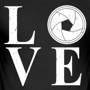 Love stars - Men's Slim Fit T-Shirt