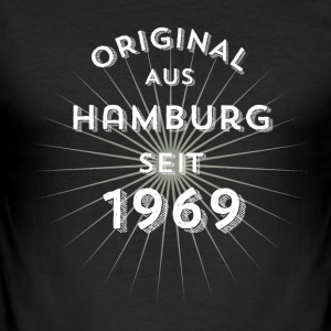 Original from Hamburg since 1969 - Men's Slim Fit T-Shirt