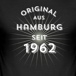 Original from Hamburg since 1962 - Men's Slim Fit T-Shirt