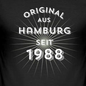 Original from Hamburg since 1988 - Men's Slim Fit T-Shirt
