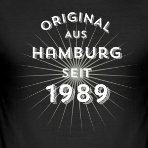 Original from Hamburg since 1989 - Men's Slim Fit T-Shirt