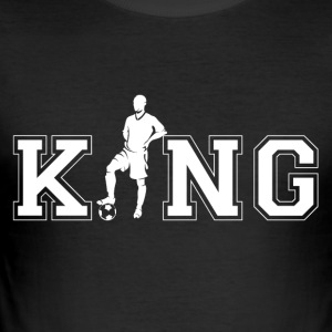 soccer King - Men's Slim Fit T-Shirt