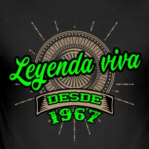 Leyenda viva desde 1967 - Men's Slim Fit T-Shirt
