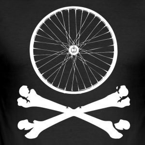 BIKE BONES - Männer Slim Fit T-Shirt