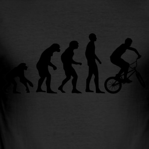 Human Evolution BMX - slim fit T-shirt