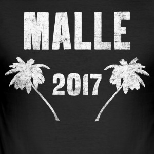 Malle 2017 - Malle T-shirt - Herre Slim Fit T-Shirt