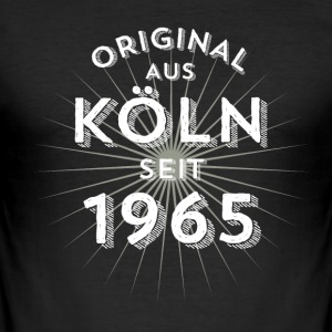 Original fra Köln siden 1965 - Herre Slim Fit T-Shirt