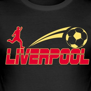 Liverpool Soccer - Herre Slim Fit T-Shirt