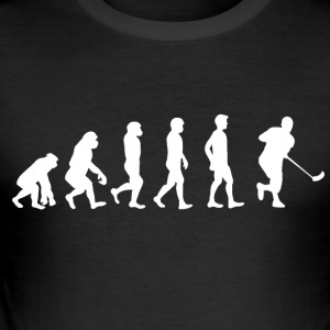 Floorball Evolution - Men's Slim Fit T-Shirt