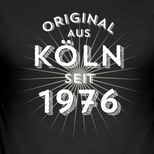 Original fra Köln siden 1976 - Herre Slim Fit T-Shirt