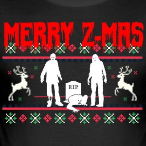 Merry Z-Mas - Männer Slim Fit T-Shirt