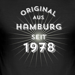 Original from Hamburg since 1978 - Men's Slim Fit T-Shirt