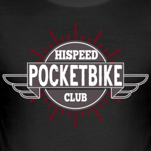 Pocket Bike HiSpeedClub - slim fit T-shirt
