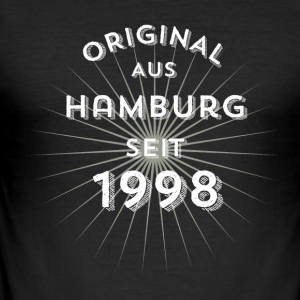 Original from Hamburg since 1998 - Men's Slim Fit T-Shirt
