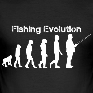 Fishing evolution - Men's Slim Fit T-Shirt
