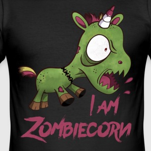 ZOMBIECORN - Slim Fit T-skjorte for menn