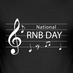 RNB Day - Nationl RNB - Herre Slim Fit T-Shirt