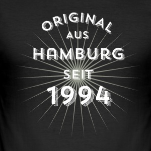Original fra Hamburg siden 1994 - Herre Slim Fit T-Shirt